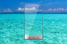 Telefón ako zo sci-fi: Sharp Aquos Crystal nemá reproduktor pre hovory, namiesto toho využíva inovatívnu technológiu