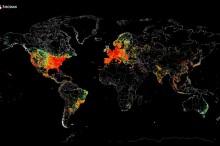 FOTO: Takto vyzerá mapa celého internetu