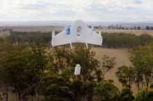 Google Project Wing: Špeciálne zásielky budú doručovať drony
