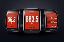 Nike + Running app se poprvé objeví v chytrých hodinkách Gear S