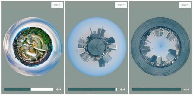 38b7bae7e TIP: Premeňte svoje fotografie na malé planétky pomocou tejto šikovnej  aplikácie