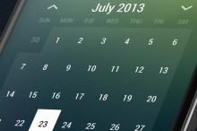 TIP: Vyskúšajte pekný widget kalendára s množstvom funkcií