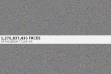 Takto vyzerá 1,3 miliardy profilových fotiek z Facebooku pokope. Nájdete tú svoju?