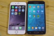 Samsung Galaxy S5 prehral v teste rýchlosti s iPhone 6: Základné aplikácie spúšťal pomalšie