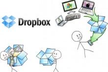 AKTUALIZÁCIA: Dropbox konečne podporuje export dát na SD kartu