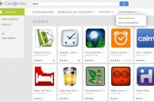 V Google Play si po novom môžete vyfiltrovať aplikácie so 4 a viac hviezdičkami