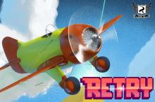 TIP: RETRY – Rovio představilo pekelné letadélko v 8-bit grafice