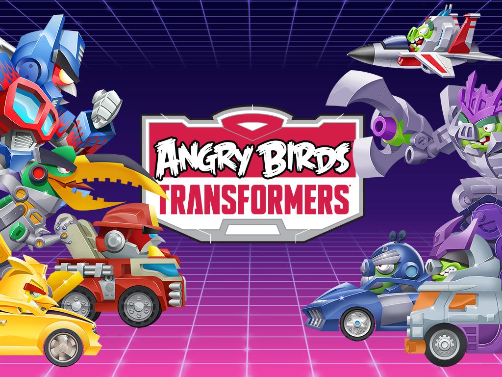 Hra Angry Birds Transformers je