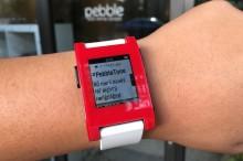 Notifikácie na hodinkách Pebble