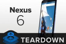 FOTO: iFixit rozobral Nexus 6. Zistili, že sa dá relatívne ľahko opraviť