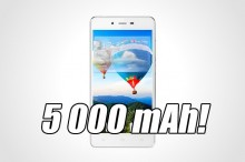 Gionee Marathon M3: Smartfón s 5 000 mAh batériou, ktorý nabitý vydrží 33 dní