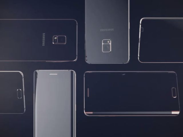 Vizuálny koncept Galaxy Note 5 a S6 edge Plus