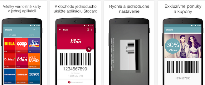 Stocard Vsetky Vase Vernostne Karty V Jednej Aplikacii