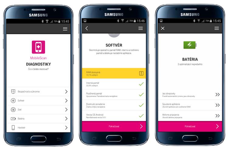 534925d31 MobileScan - mobilná diagnostická aplikácia od Telekomu
