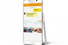 8defed5ae Galaxy Note 5 je phablet a teda zjednodušene, veľký smartfón. Jeho zadná  strana dostala nové tvarovanie s miernym oblením po stranách, ktoré sa  postará o ...