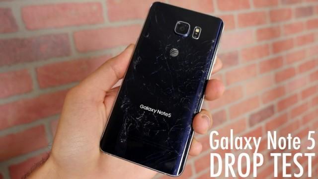 VIDEO Všade samé sklo – toto je drop test Galaxy Note5