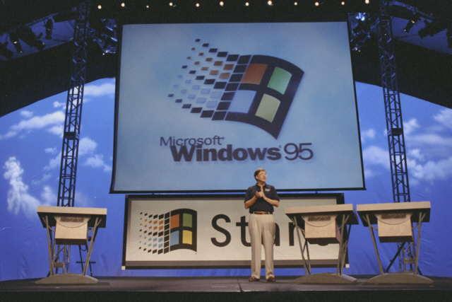 Predstavenie Windows 95