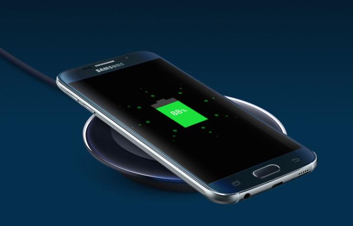 Bezdrôtové nabíjanie Galaxy S6