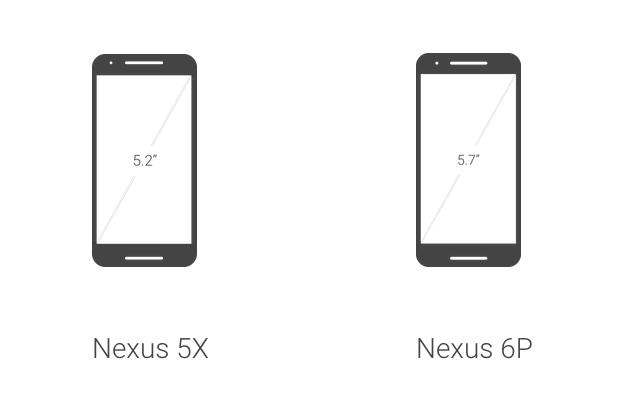 Uhlopriečka Nexus 5X vs. 6P