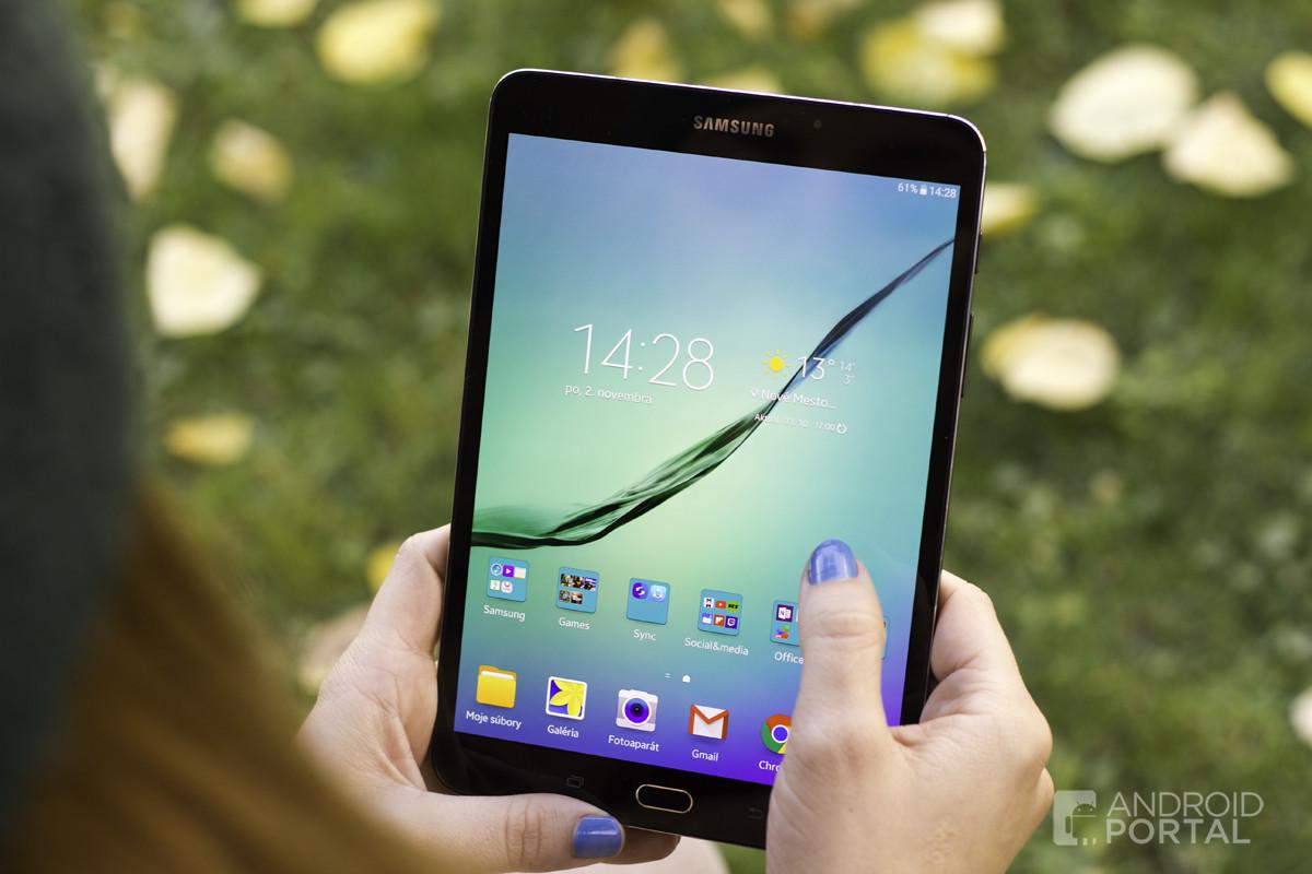 Súčasná generácia tabletu Galaxy Tab S2