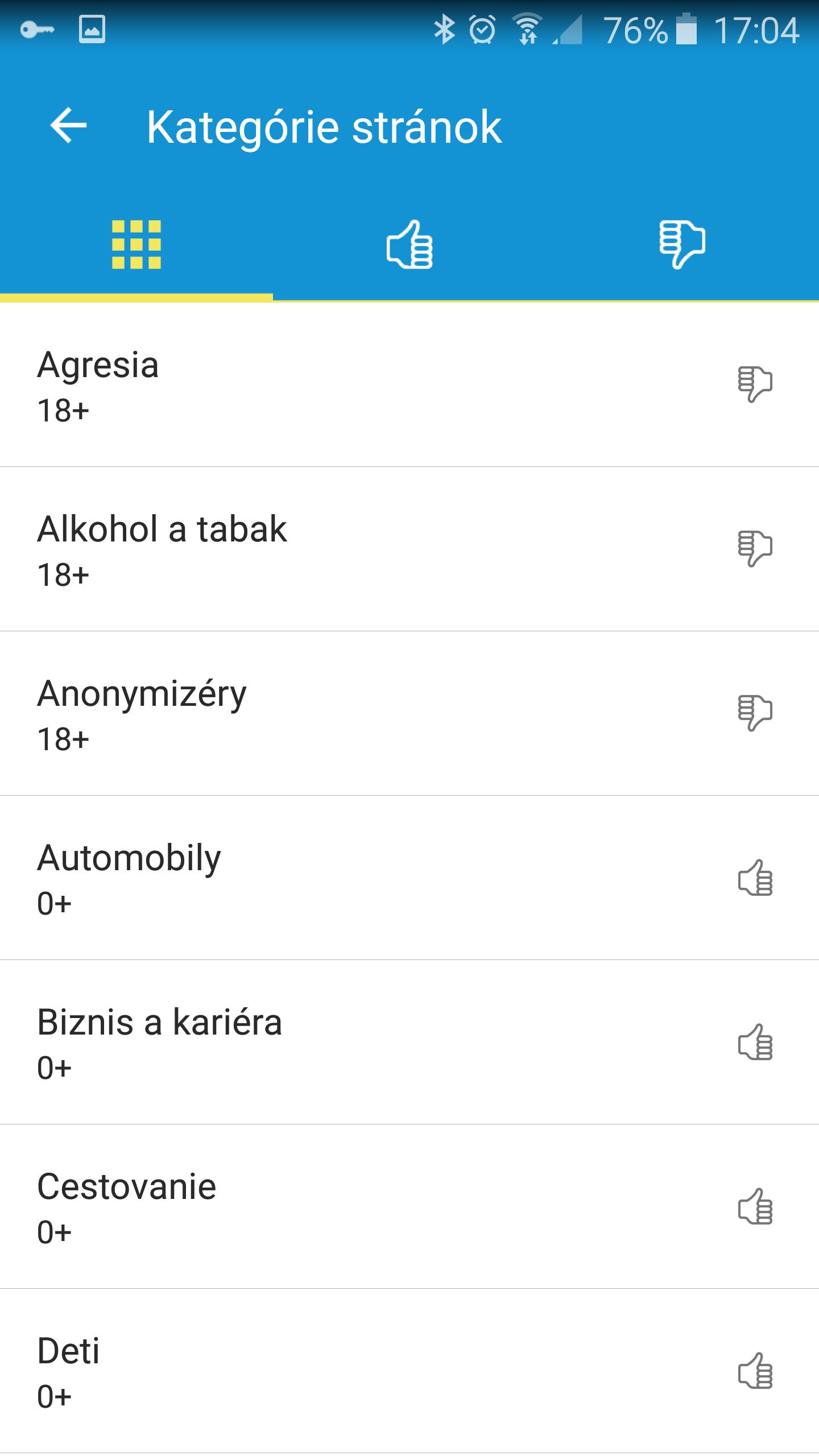 ESET_kategorie_stranok