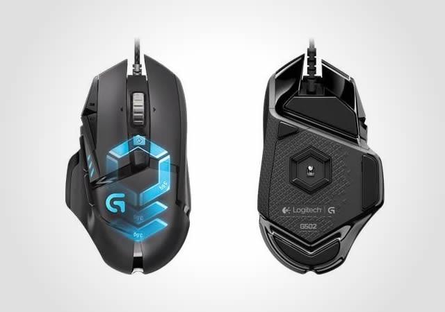 25350519b Logitech predstavuje novú hernú myš G502 Proteus Spectrum