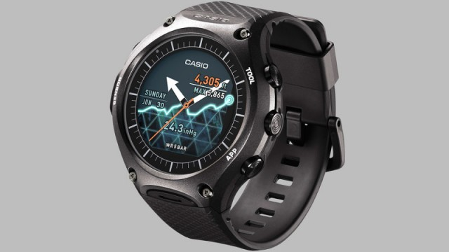 b209bf7fe CASIO predstavilo svoje prvé Android Wear hodinky s vojenskou ...