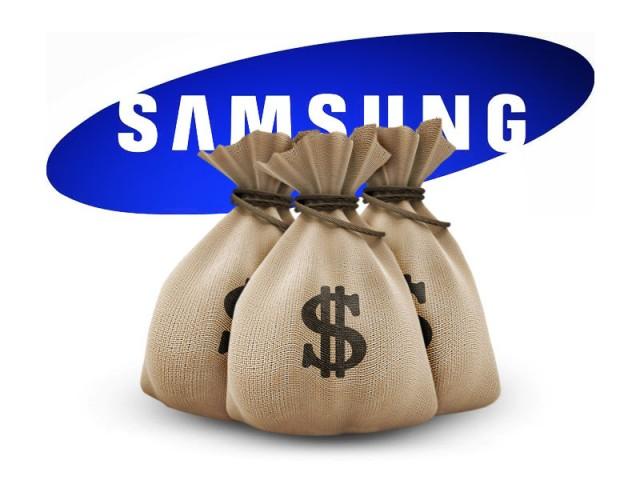 Samsung peniaze spat