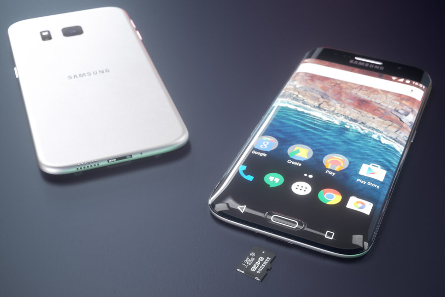 Koncept Samsung Galaxy S7 edge