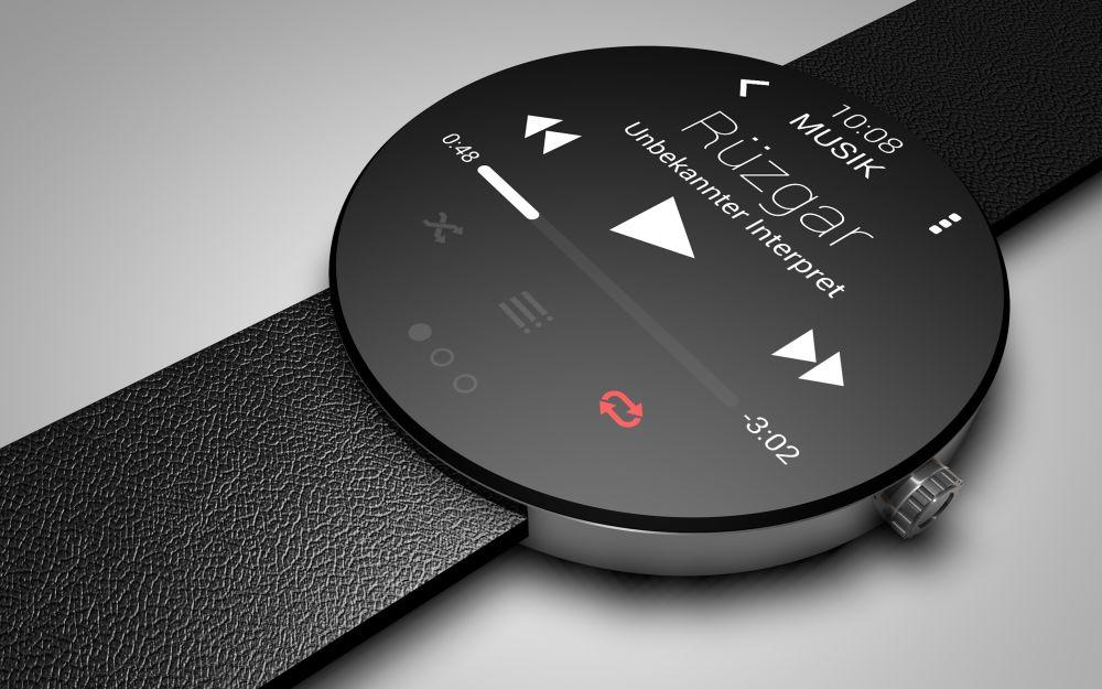 Jeden z mnohých konceptov inteligentných hodiniek od HTC