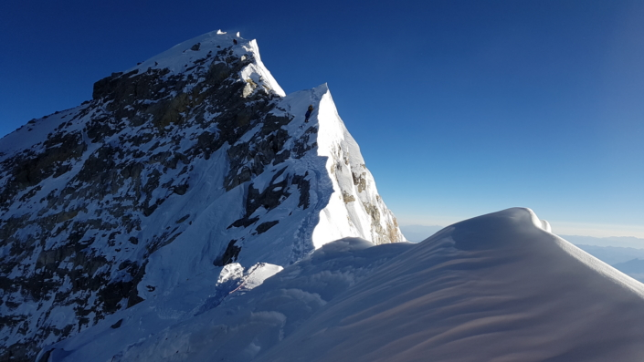 Pohľad na vrchol Mt. Everest