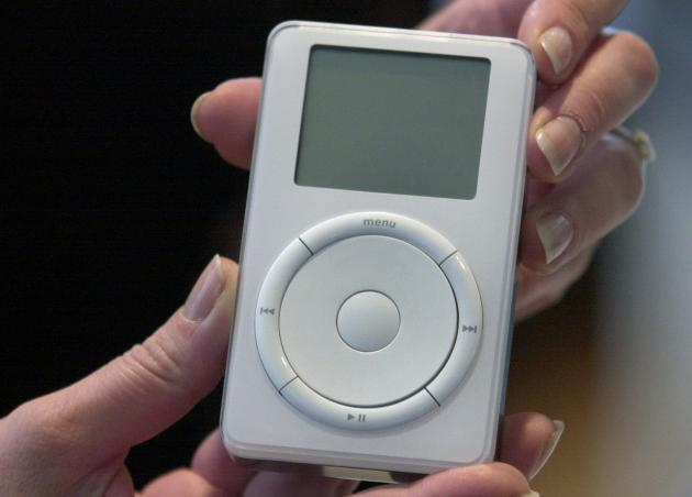 Prvý model hudobného prehrávača iPod
