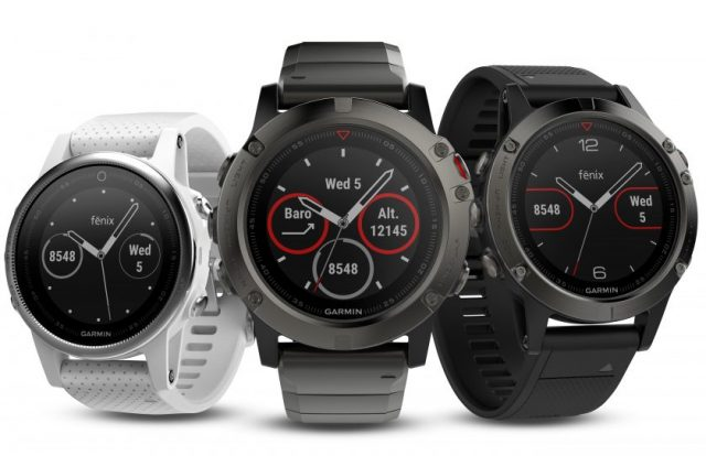f1a57df73 Trojica inteligentných hodiniek Garmin Fenix 5 oficiálne predstavená
