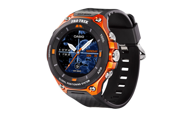 Casio Pro Trek. Dôležitým miestam v teréne môžete pomocou hodiniek priradiť  virtuálnu značku aj s poznámkou aa59cb269a7