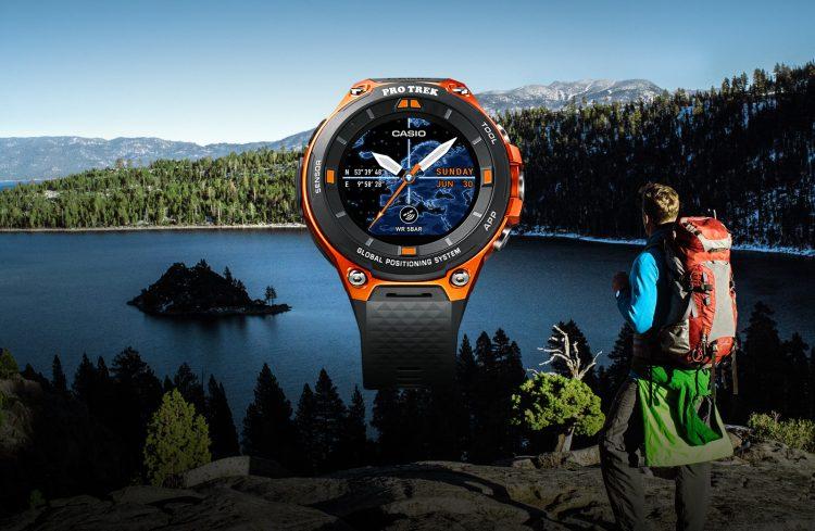 Inteligentné hodinky Casio Pro Trek. Poriadna odolnosť a Android Wear 2.0 na palube