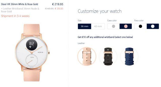 a72a9f032 Hľadáš darček na Valentína? Ružové hodinky Nokia Steel HR môžu byť ...