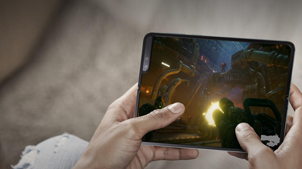 Androidportal ocenenie pre samsung galaxy fold: jeho displej je extrémne