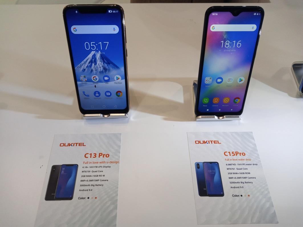 Oukitel C13 Pro, Oukitel C15 Pro