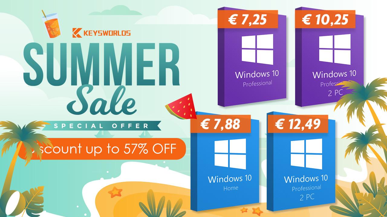 Windows 10 môže byť váš extrémne lacno.